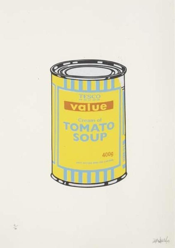 Banksy-Soup Can-2005