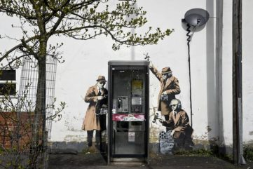 Just Let Banksy Work - Our Artist of the Week is Stirring Up Spirits Again. Unvoluntarily.