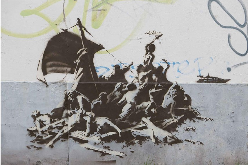 Banksy - The Raft of the Medusa