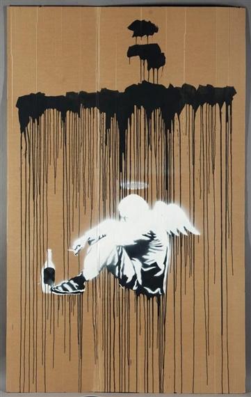 Banksy-Tramp Angel-