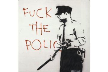 Banksy - Untitled (Fuck The Police), 2000