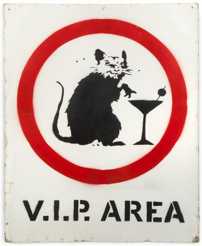 Banksy-V.I.P. Rat-2005