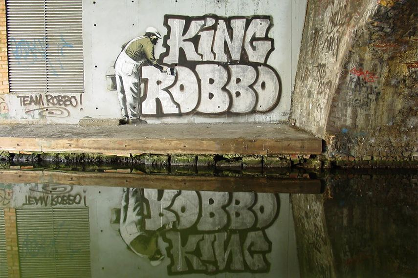 Banksy VS Robbo, Regent's Canal tour new tours great