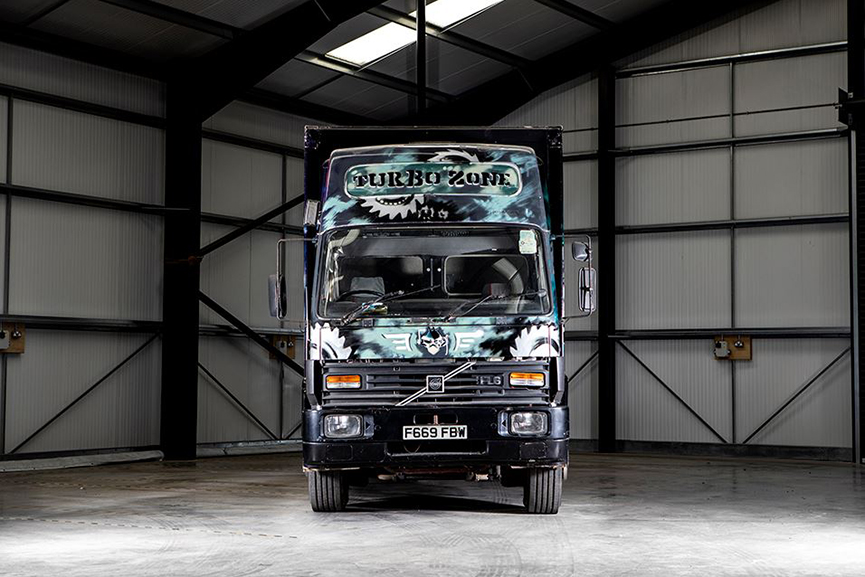 Banksy Volvo Truck Bonhams