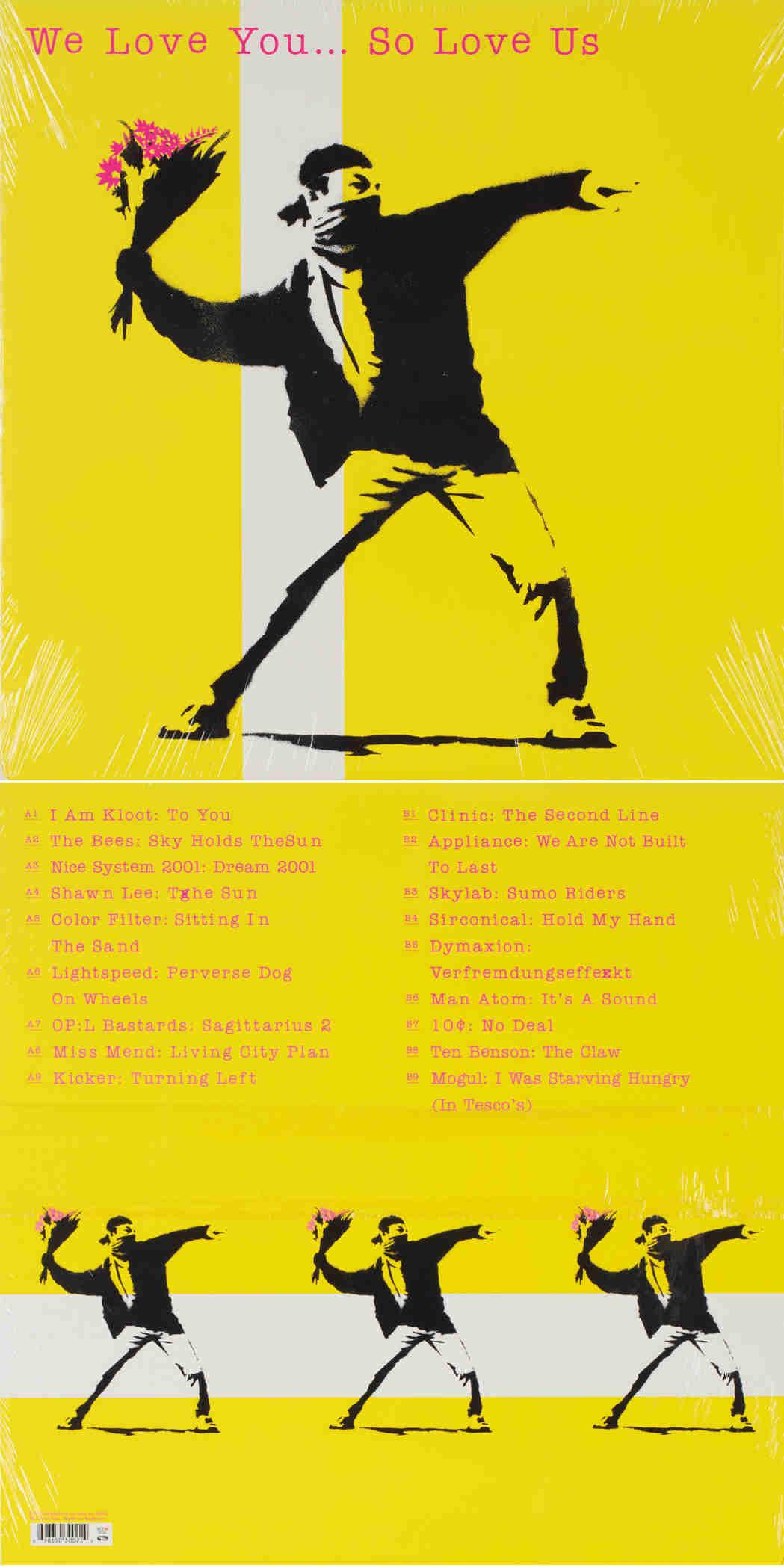 Banksy-We Love You... So Love Us-2000