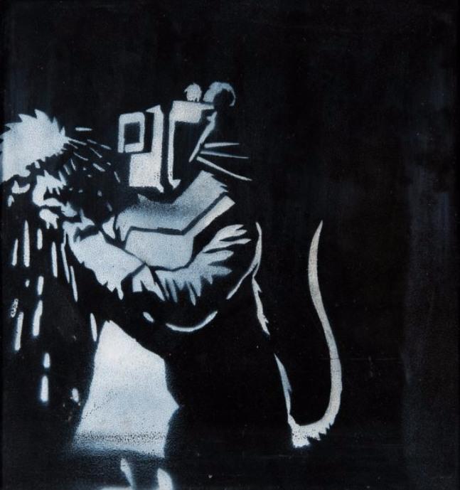 Banksy-Welder Rat-