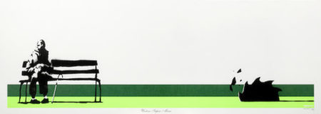 Banksy-Weston Super Mare (Lime Green)-2003