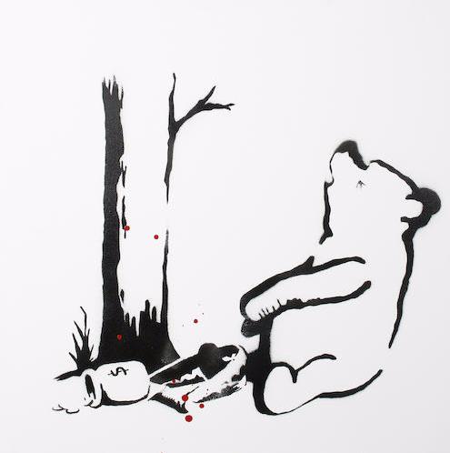 Banksy-Winnie the Pooh-2003