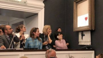 Banksy at Sotheby's