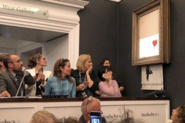 What Banksy's Prank at Sotheby's Could Mean for His Market - And Art At Large