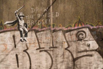 The City of Hull Gets a New Banksy Mural - And Is Now on a Quest to Save it