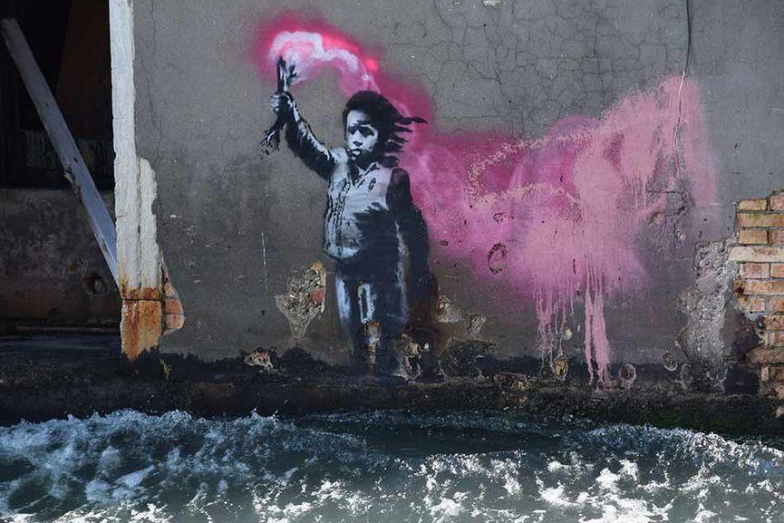 Banksy in Venice