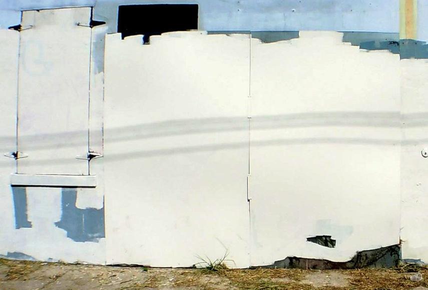 Banksy - Looters stencil, 2013