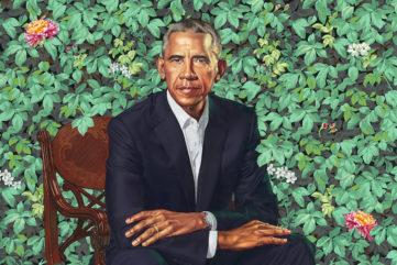 President Barack Obama by Kehinde Wiley © Kehinde Wiley