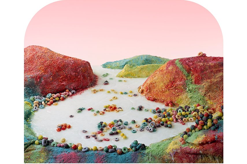 Barbara Ciurej and Lindsay Lochman - Fruit Loops Landscape, 2012, From the series Processed Views - Surveying the Industrial Landscape, Courtesy of the artists