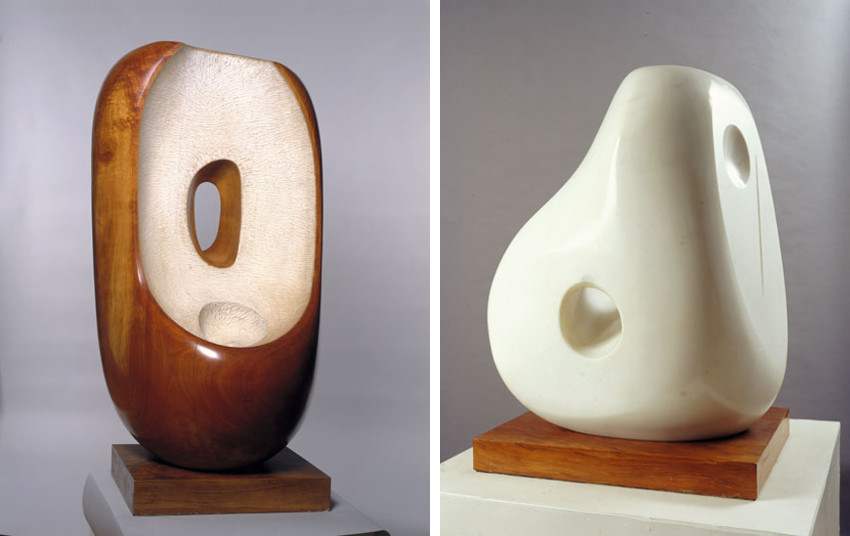Barbara Hepworth museum was run by tate and she was tate first female trustee