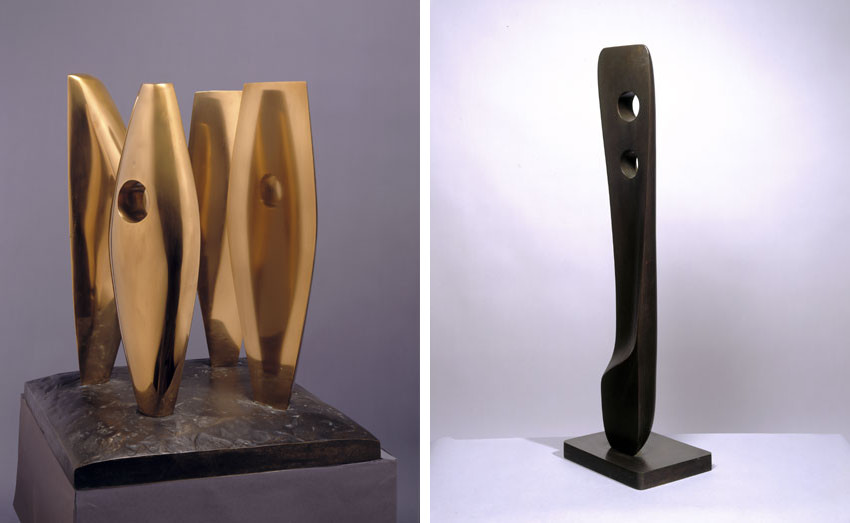Barbara Hepworth home landscape works are on view on facebook
