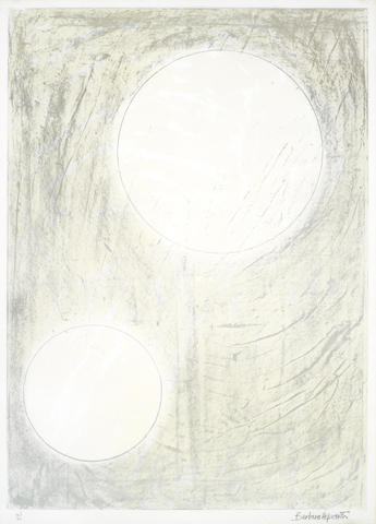 Barbara Hepworth-Sun and water, from the Aegean Suite-1971