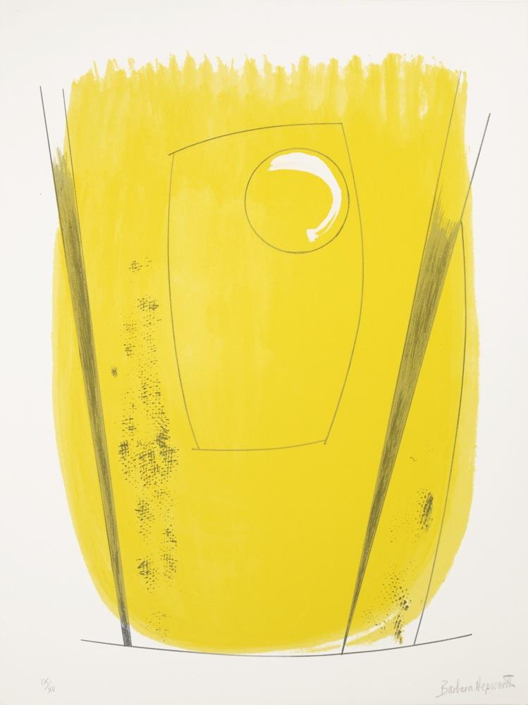 Barbara Hepworth-Two Opposing Forms-1970