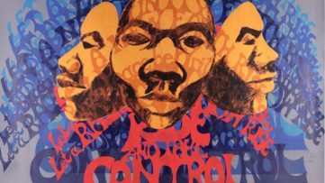 Barbara Jones Hogu - Rise and Take Control (screen print), 1970, africobra movement in chicago