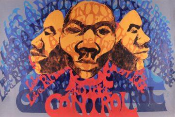 Barbara Jones Hogu - Rise and Take Control (screen print), 1970, africobra movement in chicago