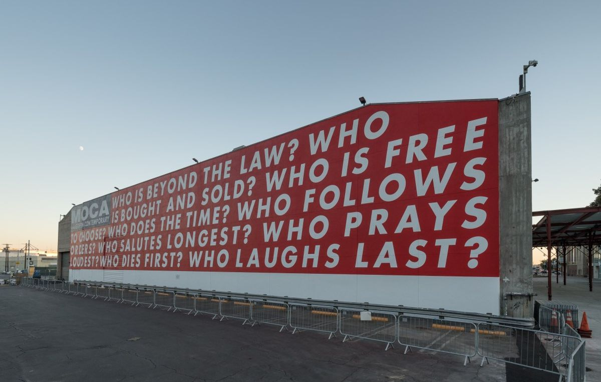 Barbara Kruger - Untitled (Questions), 1990/2018