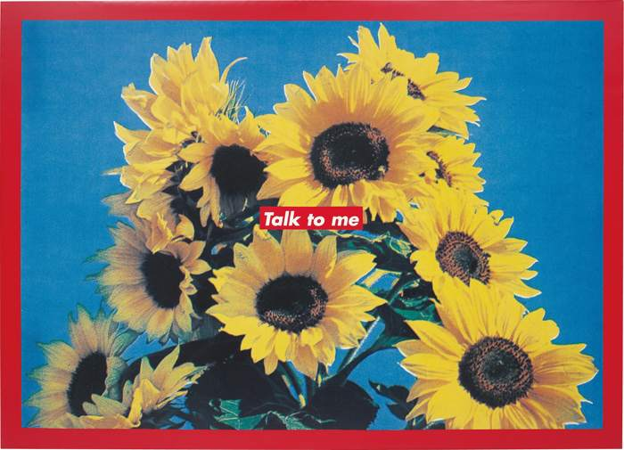 Barbara Kruger-Untitled (Talk to Me)-1995