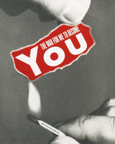 Barbara Kruger-Untitled (The War For Me To Become You)-2008