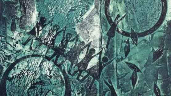 Barbara Wagner - Not Waving But Drowning III, 2019 (detail)