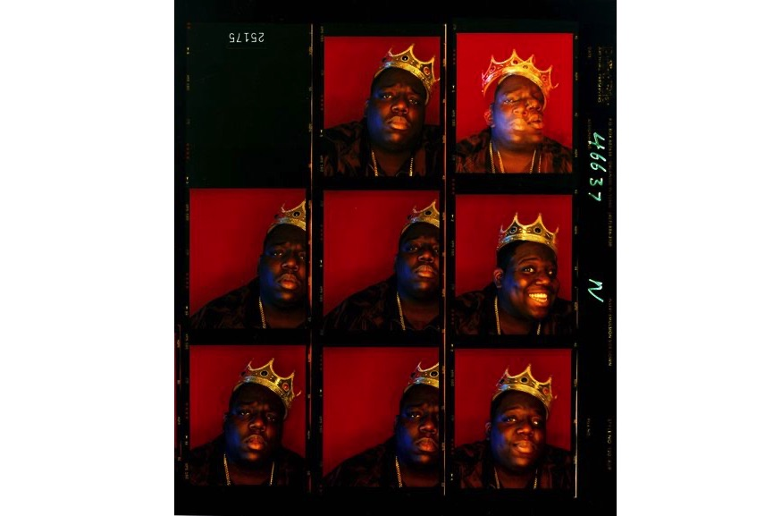 Barron Claiborne - Biggie Smalls, King of New York, Wall Street, New York, 1997