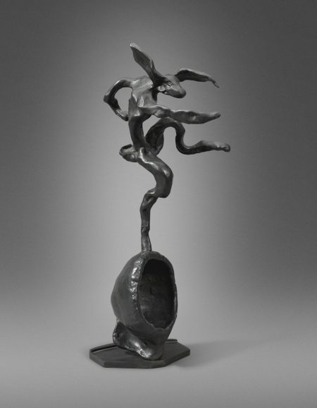 Barry Flanagan-Hare On Globe Form-1993