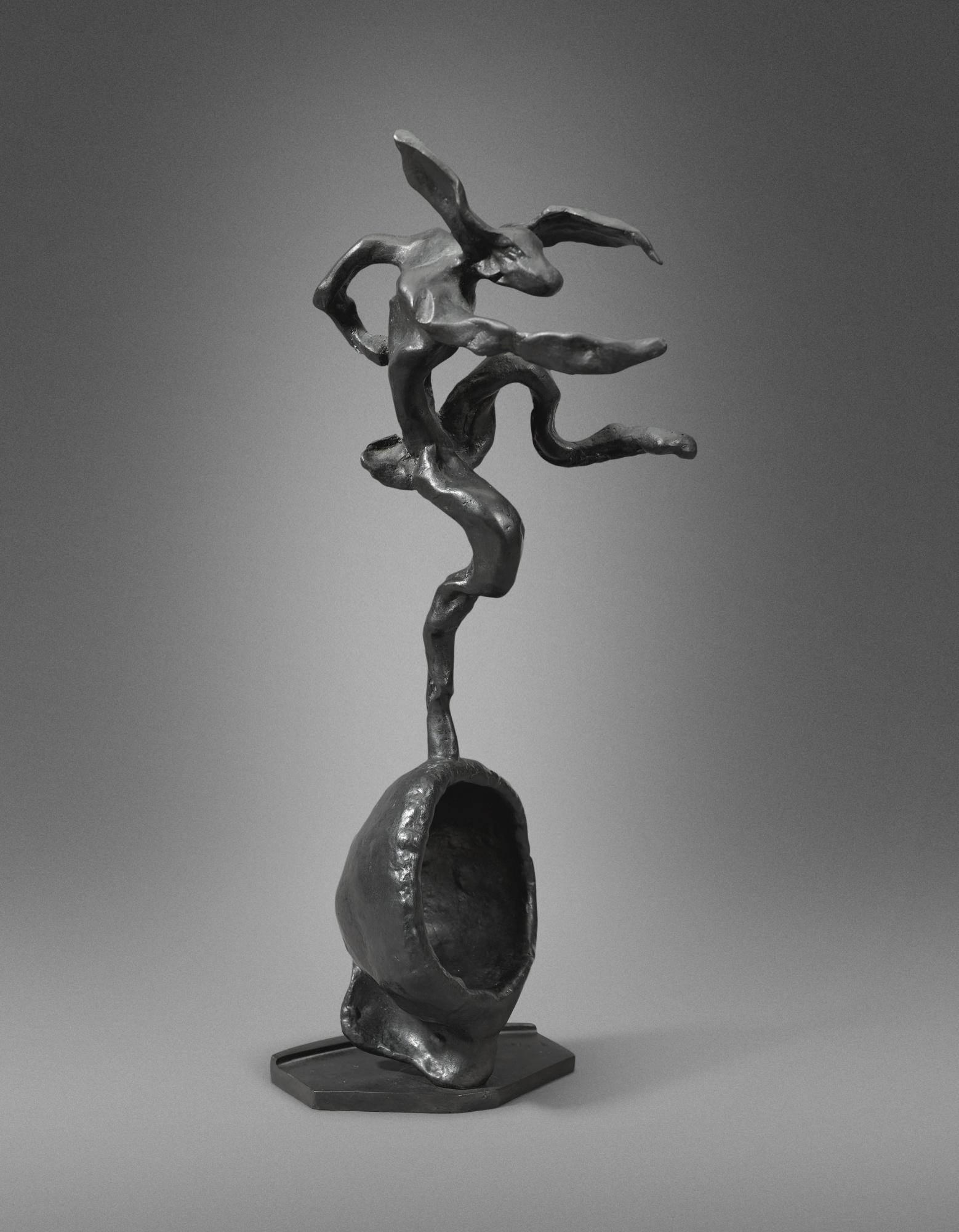 Barry Flanagan-Hare On Globe Form-1993