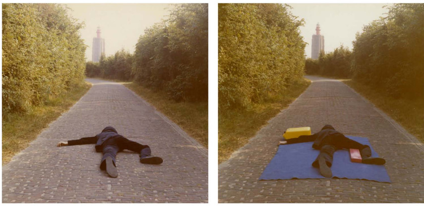 Bas Jan Ader time tell sad 1975