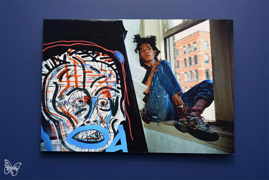 Basquiat drawing - Photo: Butterfly