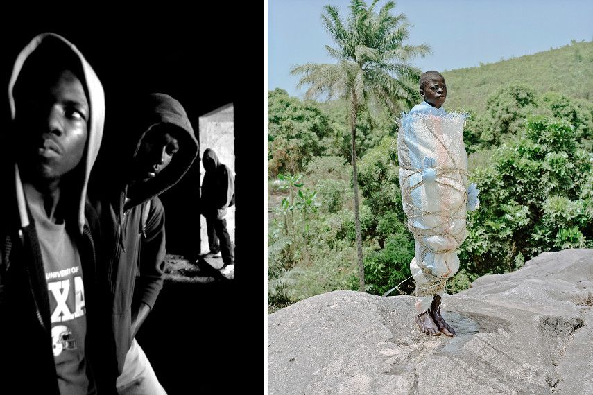 Baudouin Mouanda - Hip-Hop et Société, 2009 - Namsa Leuba - Statuette Nganga SaleLaye - Guinea, Ya Kala Ben, 2011