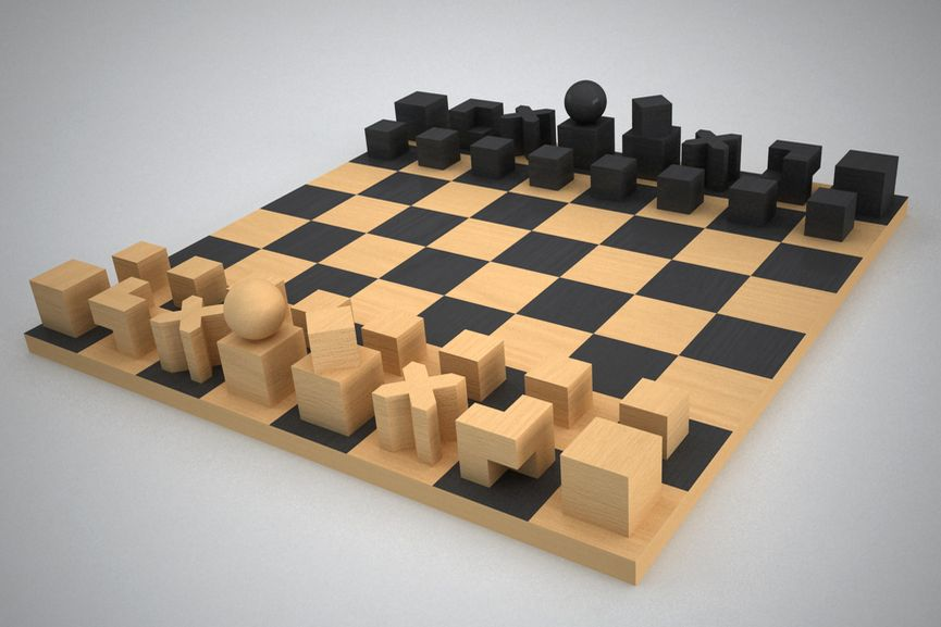 Josef Hartwig Chess Set