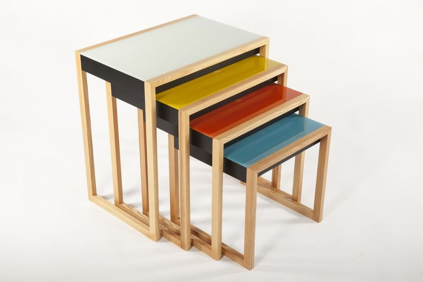 josef albers Nesting Tables