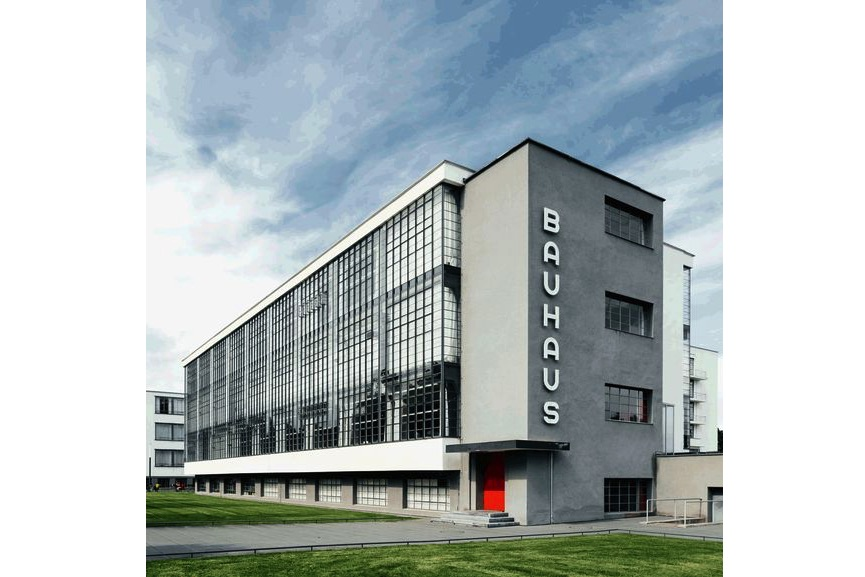 Bauhaus' school building in Dessau