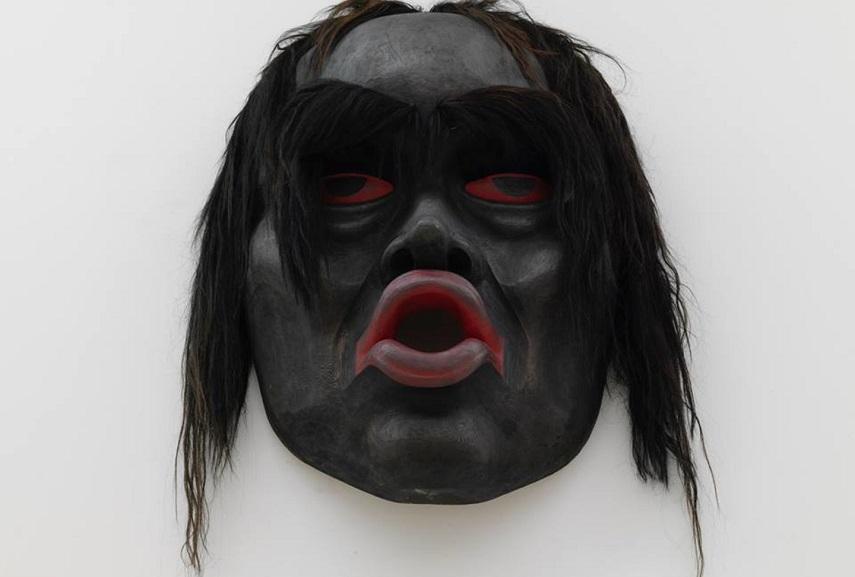 Beau Dick - Tsonoqua Mask, 2016, photo Stathis Mamalakis