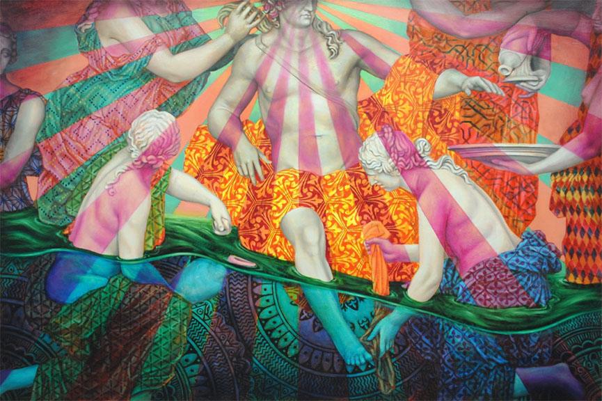 logan hicks exhibition new facebook artist work home
