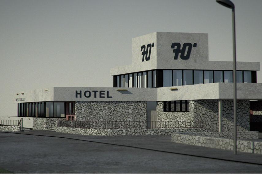 Bedwyr Williams - Hotel 70°, 2014