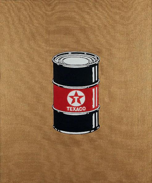 Beejoir - Oil Can Canvas, 2010 (60 x 60 cm)