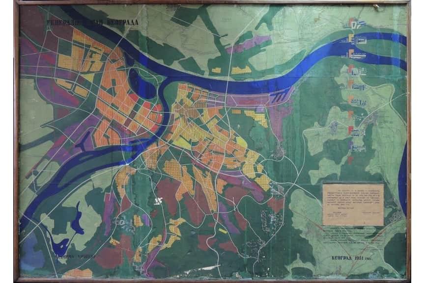 Belgrade Master Plan, 1949-50