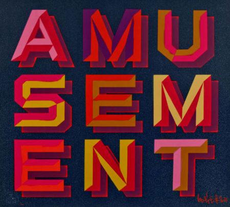 Ben Eine-Amusement-2014