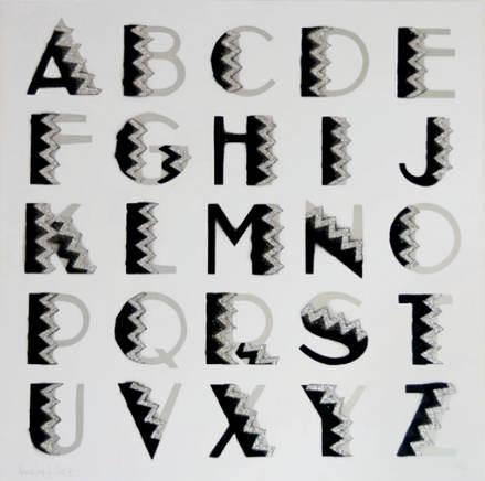 Ben Eine-Art Deco A-Z-2010
