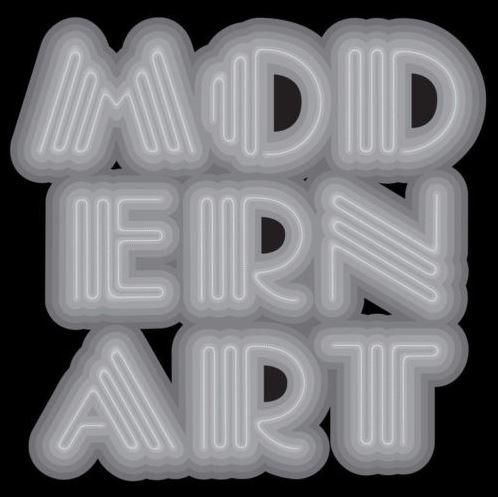 Ben Eine-Modern Art Neon Grey-