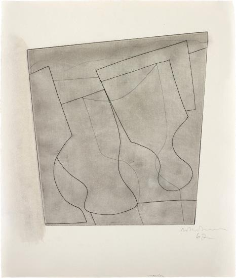Ben Nicholson-Two and a Half Goblets-1967
