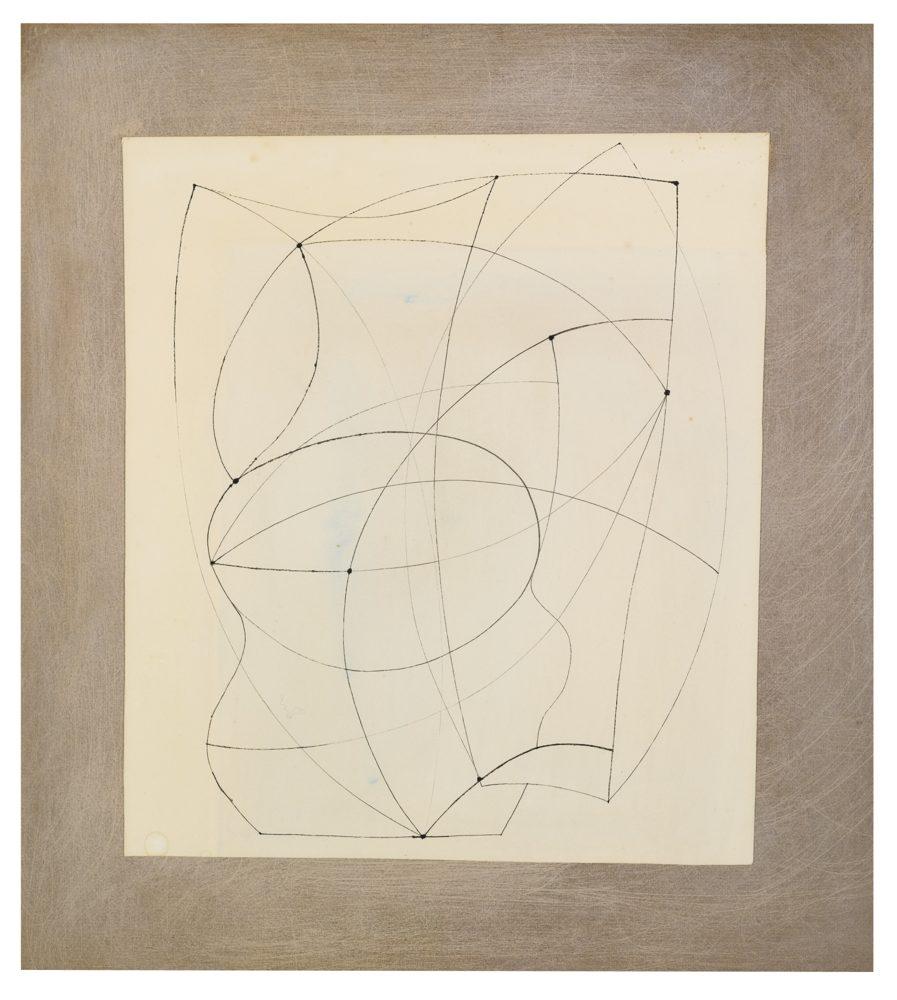 Ben Nicholson-Untitled-1966