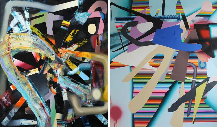 Ben Tinsley - Nightlife, 2015 (Left) - Hangman, 2013 (Right)