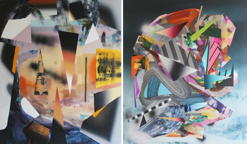 Ben Tinsley - Western Prism, 2014 (Left) - Riff Raff, 2014 (Right)